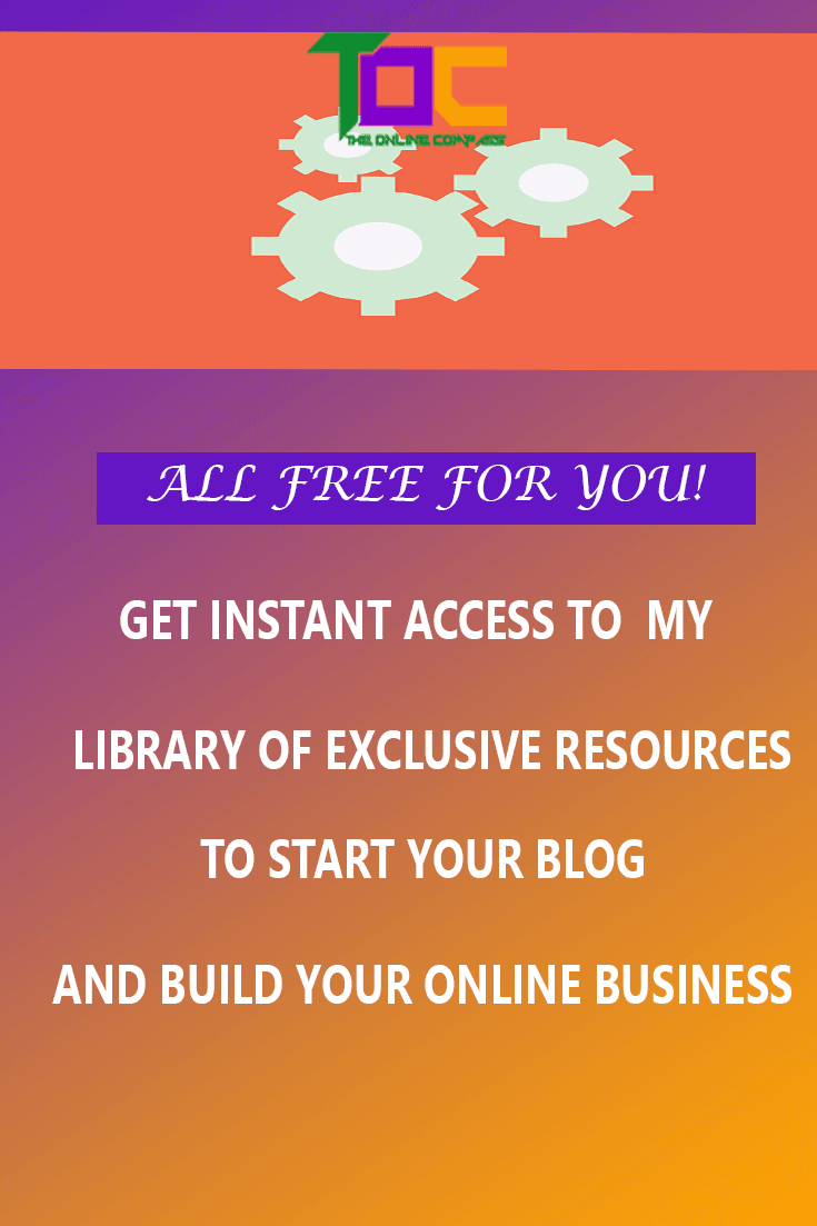Get instant access to my library of exclusive resources to start and build your online business