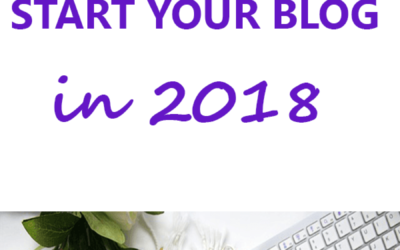 20 reasons why you should start a blog in 2018