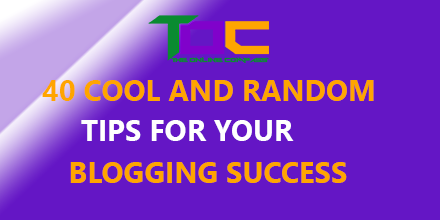 Best tips for blogging