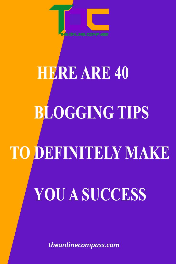 Best tips for blogging